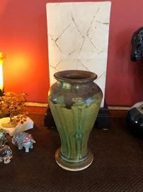 Pewabic vase.