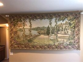 Victorian Tapestry with Rod