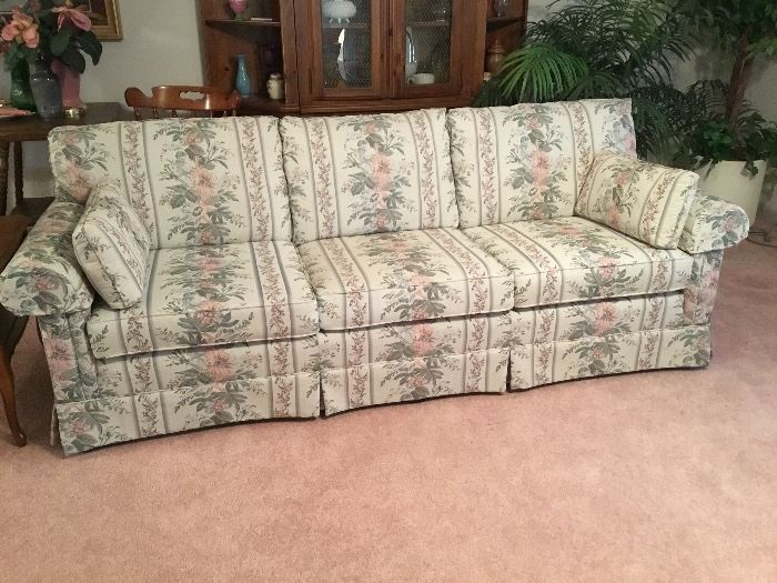 Sofa - there are 2 of these exactly alike