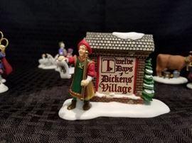 Dept 56 Twelve Days of Dickens Village