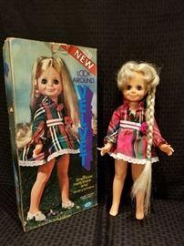 Vintage Look Around Velvet Doll