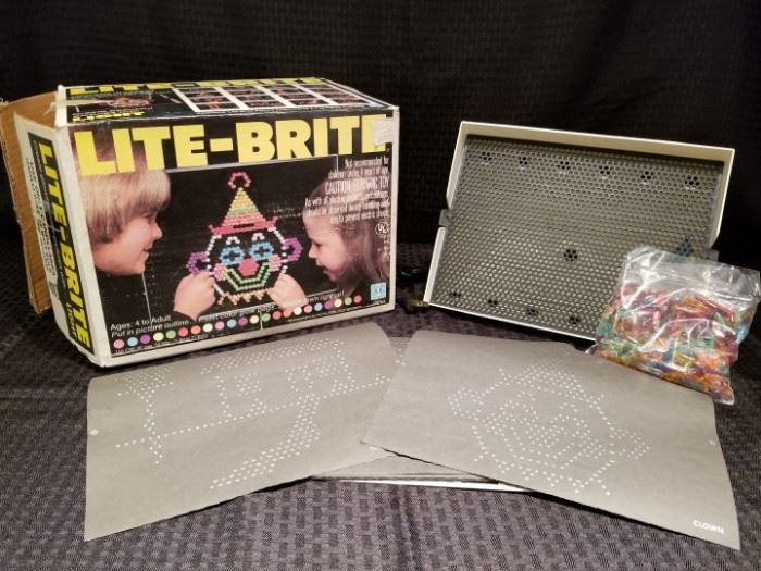 Vintage Lite-Brite