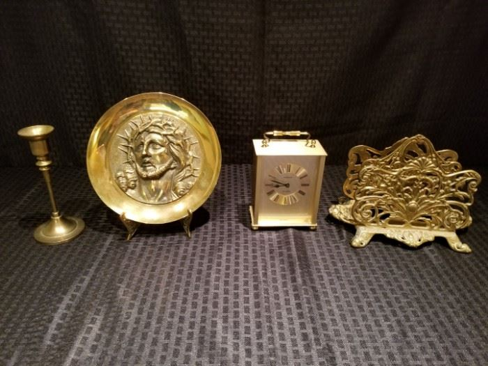 Collection of Brass Decor