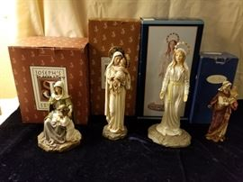 Collection of Mary Figurines