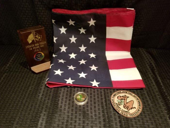 Operation Iraqi Freedom Memorabilia