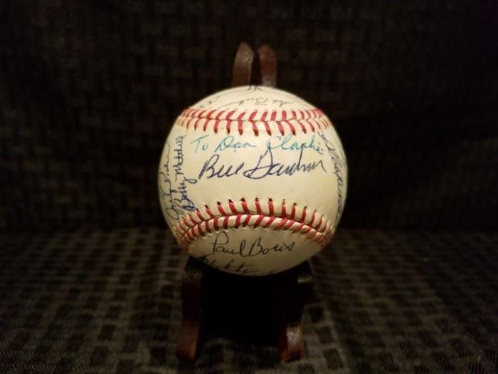 1982 Minnesota Twins Signed Baseball