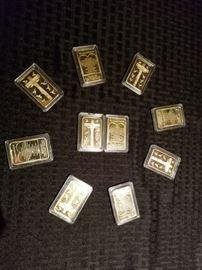 Ten Commandments Gold Clad