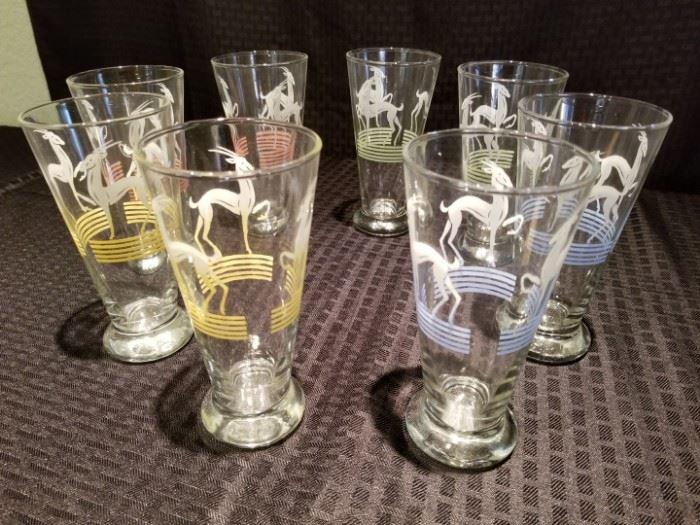 Vibrant Pilsner Glasses