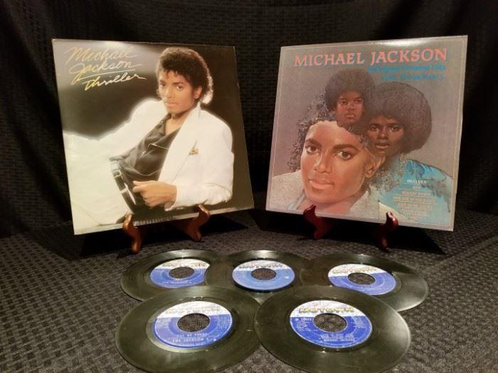 Michael Jackson Vinyl Records