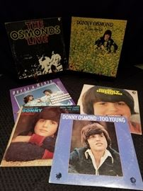 Donny and Marie Osmond Vinyl Records