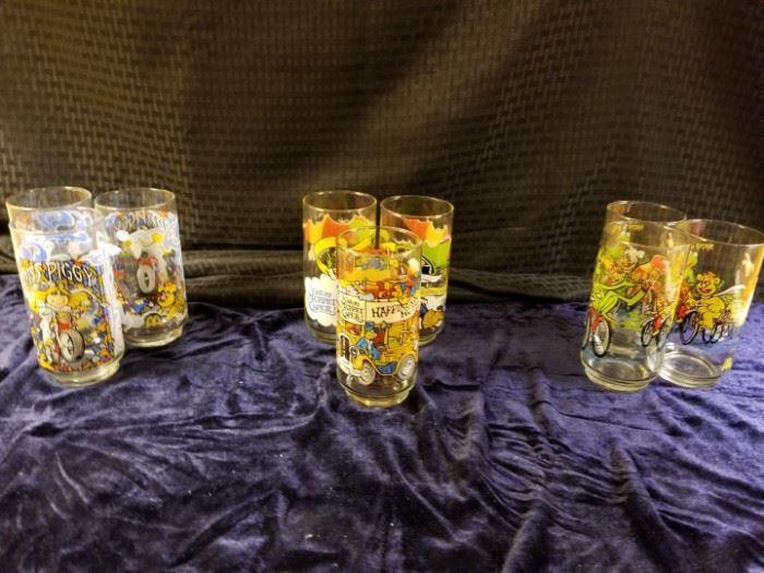 McDonald's 1981 Commemorative Glasses