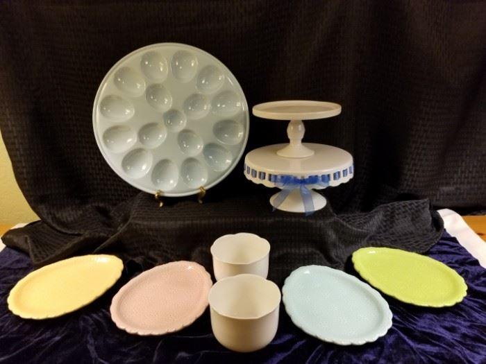 Pastel-Colored Ceramic Kitchware