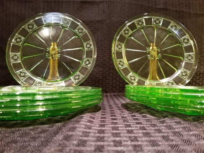Doric Depression Glass Plates