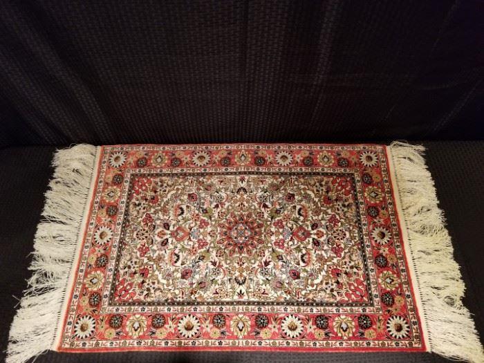 Vintage Silk Rug