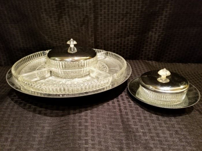 Appetizer Tray on Turntable