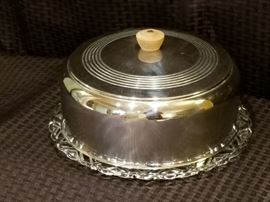 Vintage Cake Tray with Cover