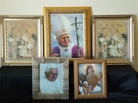 Framed Prints and Photographs of the Pope