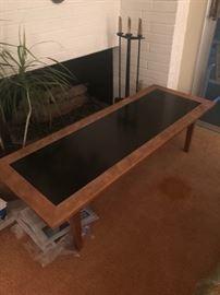 Master craftsman coffee table
