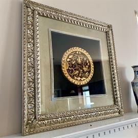Koi Medallion Art