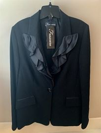 Black Frascara blazer....new!