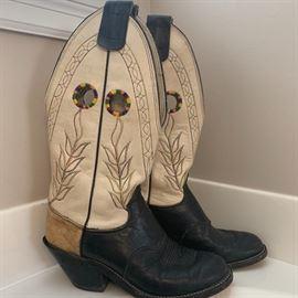 Olathe Leather boots