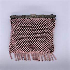Vintage beaded evening bag