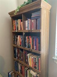 Shelves and shelves of books!