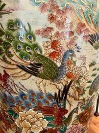 Closeup of Satsuma Vases