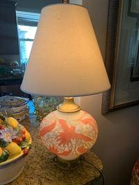 Vintage Lamp...base lights up!