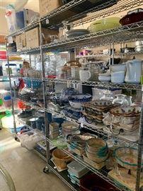 Garage full of kitchenware!