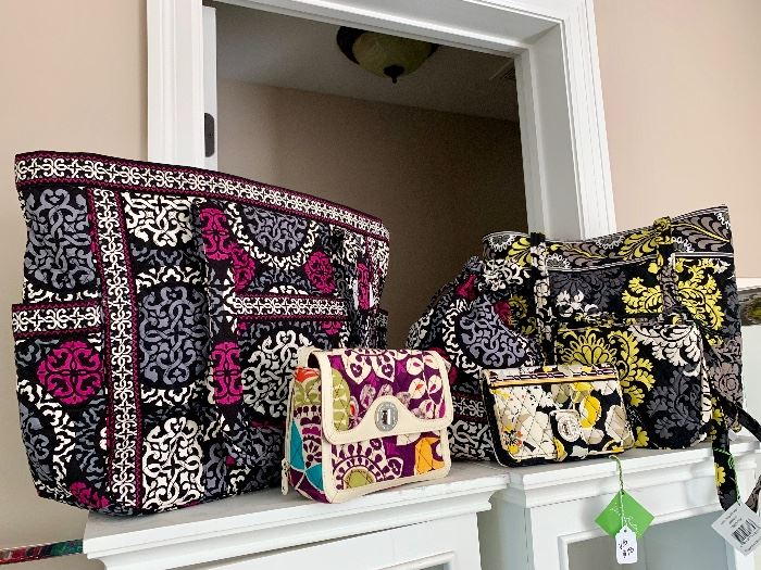 Collection of Vera Bradley bags....some new with tags!