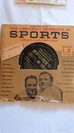 Sports Record Collectible   Babe & Lou