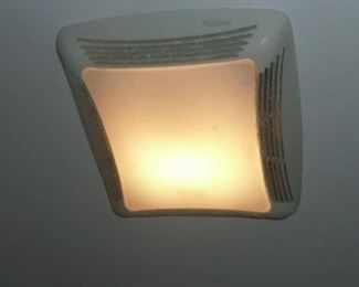 Exhaust Ceiling Fan with Light