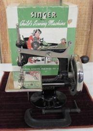 1950's Singer Child's Sewing Machine w/Original Box