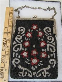 Large Beaded Purse