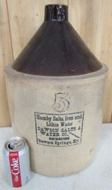 #5  Dawson Salts & Water Co.  Jug