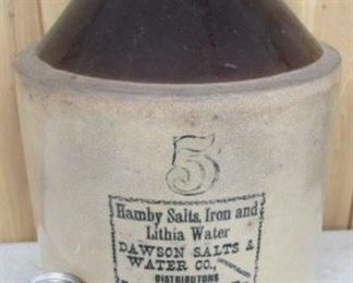 #5  Dawson Salts & Water Co.  Jug