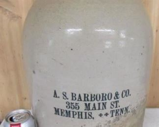 #5  A.S. Barboro & Co.  Memphis,Tenn  Jug