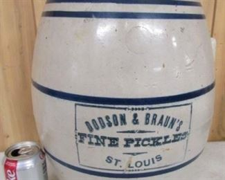 Dodson & Braun's Pickle Crock