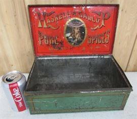 Metal Spice Box