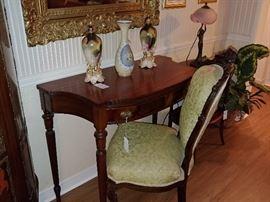 Sheraton Duncan Phyfe Hallway Table, Writing Desk