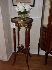 1880's French Mahogany Plant Stand