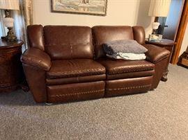 Reclining lazy boy couch