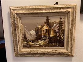 Richard Wagner (colorado 1923-2009) painting signed