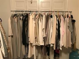 THIS IS THE GIORGIO ARMANI RACK - STILL SORTING
