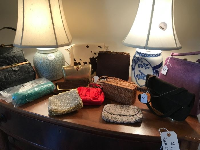 Vintage and designer hand bags