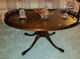 1930's Walnut Antique/Vintage Coffee Table