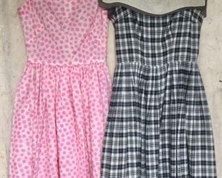 Vintage 50s dresses