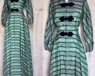 40s Hostess Dress Fabulous