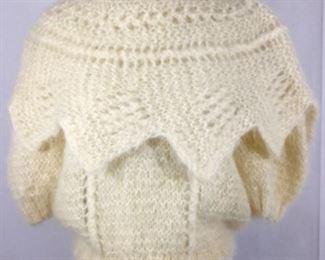 Knit Sweater Angora 1950s